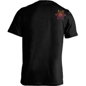 Supacaz Str8 Up T-Shirt Unisex neon pink/neon gelb